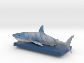 Blue Shark Full Color 3D Printer by Space 3D in Full Color Sandstone
