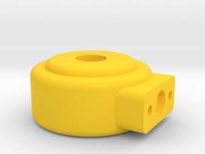 Solenoid Coil 7 Small in Yellow Processed Versatile Plastic