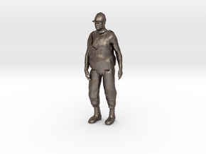 Workman 1/29 scale in Polished Bronzed Silver Steel