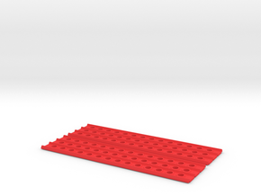 Recovery Ramps in Red Processed Versatile Plastic