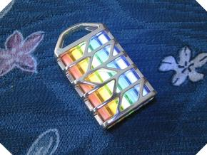 Tritium Lantern 6 (All Materials) in Polished Silver