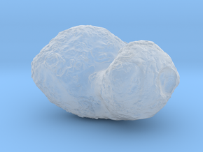 Comet 67P in Smooth Fine Detail Plastic