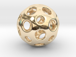 Little Dome in 14K Yellow Gold