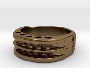 US12 Ring XI: Tritium in Natural Bronze