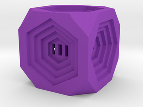 Dice70 in Purple Processed Versatile Plastic