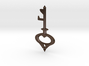 Key Bottle Opener (2-Way) in Polished Bronze Steel