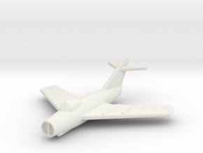 JA09 MiG15bis (1/285) in White Natural Versatile Plastic