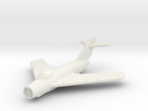 JA10 MiG17F Fresco C (1/285) in White Natural Versatile Plastic