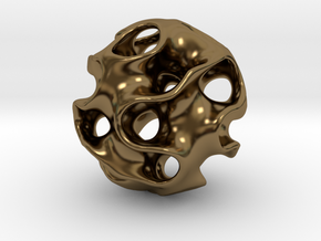 GYRON Sphere - 60mm in Polished Bronze