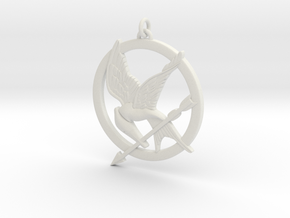 Mockingjay in White Natural Versatile Plastic