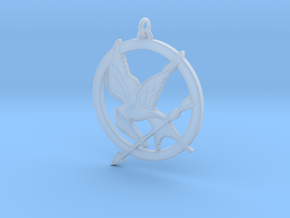 Mockingjay in Smooth Fine Detail Plastic