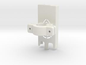 Dexcom Case w/Handlebar Mount in White Natural Versatile Plastic
