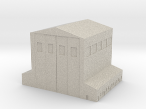 Small MechaBay in Natural Sandstone