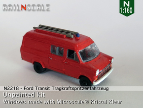 Ford Transit TSF (N 1:160) in Smooth Fine Detail Plastic