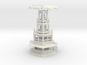 Glühweinpyramide - Ver.1 - 1:160 (N scale) in White Natural Versatile Plastic