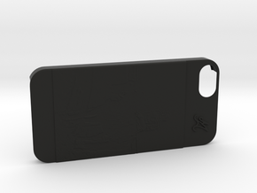 Cover Iphone 5S M&O in Black Natural Versatile Plastic