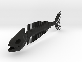 Flexible Fish Skeleton in Black Strong & Flexible