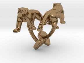 TwinTigers -Cuffs- in Natural Brass