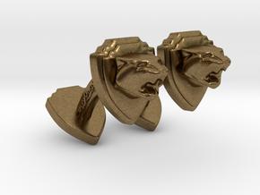 TwinTiger2 -Cuffs- in Natural Bronze