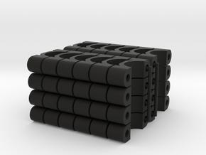 TKSH-1200-SET in Black Natural Versatile Plastic