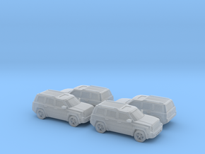 Jeep Patriot 1:160 4x in Smooth Fine Detail Plastic