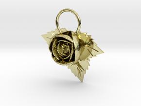 Rose in 18k Gold
