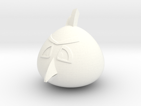 Angry Bird in White Strong & Flexible Polished