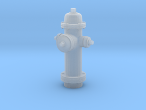1/24 scale Fire Hydrant in Smooth Fine Detail Plastic