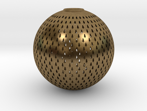 Tree Ball in Natural Bronze