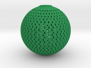 Tree Ball in Green Processed Versatile Plastic