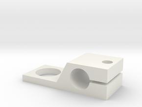 potentiometer bracket in White Natural Versatile Plastic