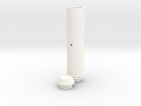 Leg Flare in White Processed Versatile Plastic