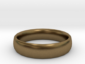 plain Ring Size 22x22 in Natural Bronze