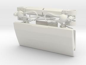 CARF Lightning seat dressup kit in White Natural Versatile Plastic