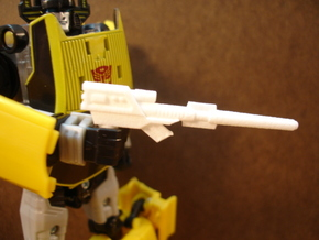 Sunlink - CounterPunchy Rifle in White Natural Versatile Plastic