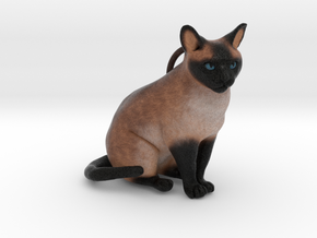 Custom Cat Ornament - Pikachu in Full Color Sandstone