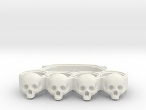 Knuckles skull edition in White Natural Versatile Plastic