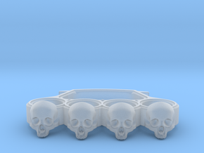Knuckles skull edition in Smooth Fine Detail Plastic