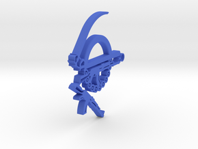 Khanda in Blue Processed Versatile Plastic
