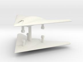 1/285 X-45C UCAV (x2) in White Natural Versatile Plastic