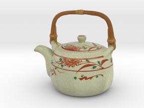 The Asian Teapot-2 in Full Color Sandstone
