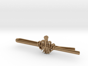 Game of Thrones: House Greyjoy Tie Clip in Natural Brass