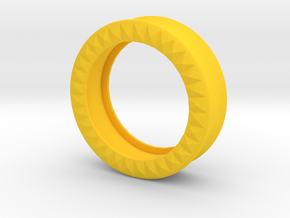 VORTEX9-36mm in Yellow Strong & Flexible Polished