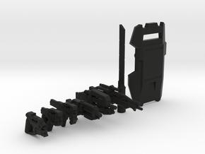 Cerberus Weapons Collection in Black Natural Versatile Plastic