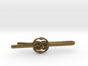 THE NEVERENDING STORY: AURYN TIE-CLIP in Natural Bronze