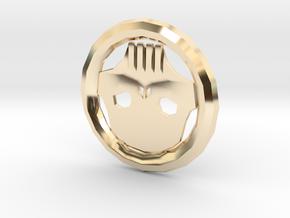 Skull Token in 14K Yellow Gold