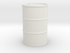 Olietønde 160 l. 1/160 in White Natural Versatile Plastic