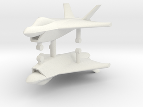 1/285 Boeing X-32 JSF (x2) in White Natural Versatile Plastic