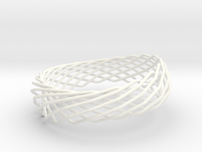 Continuous Wrap Thicker (sz ML) in White Processed Versatile Plastic