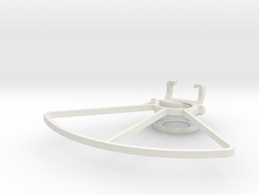 IRIS Prop Guards in White Natural Versatile Plastic